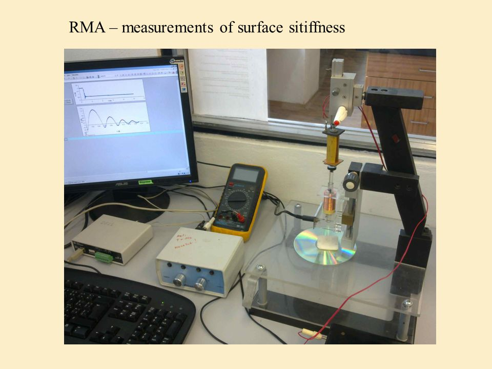 RMA – measurements of surface sitiffness
