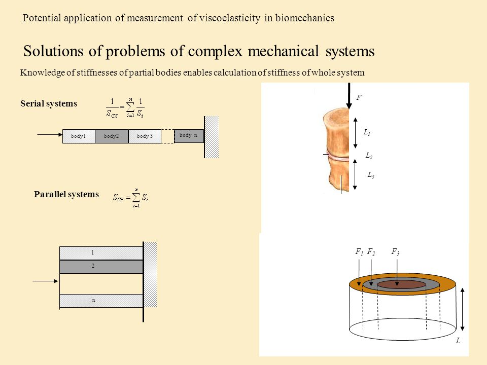Solutions of problems of complex mechanical systems