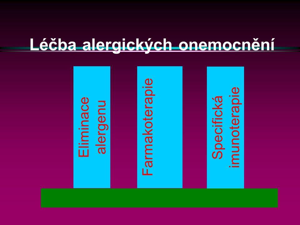 Léčba alergických onemocnění