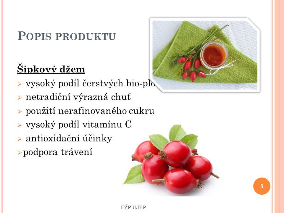 Popis produktu Šípkový džem vysoký podíl čerstvých bio-plodů