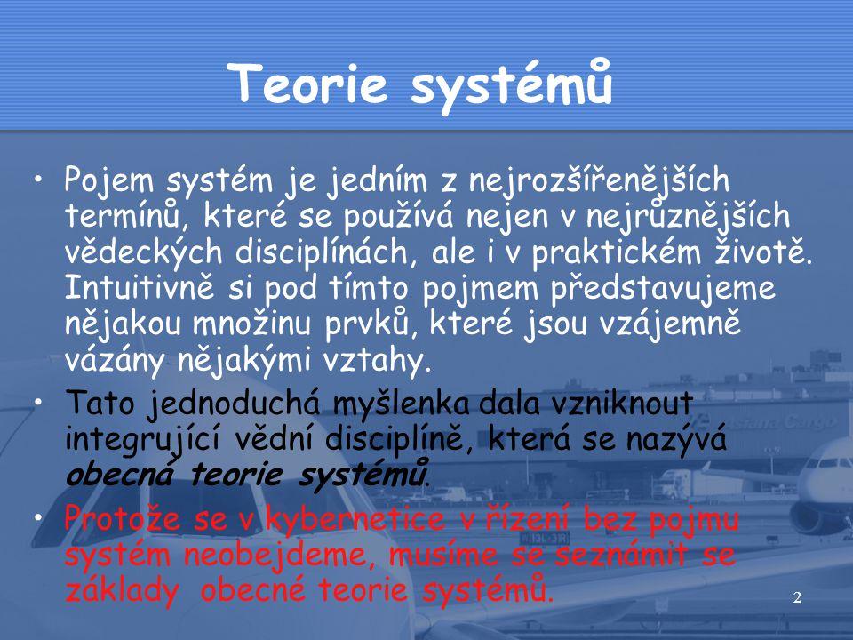 Teorie systémů