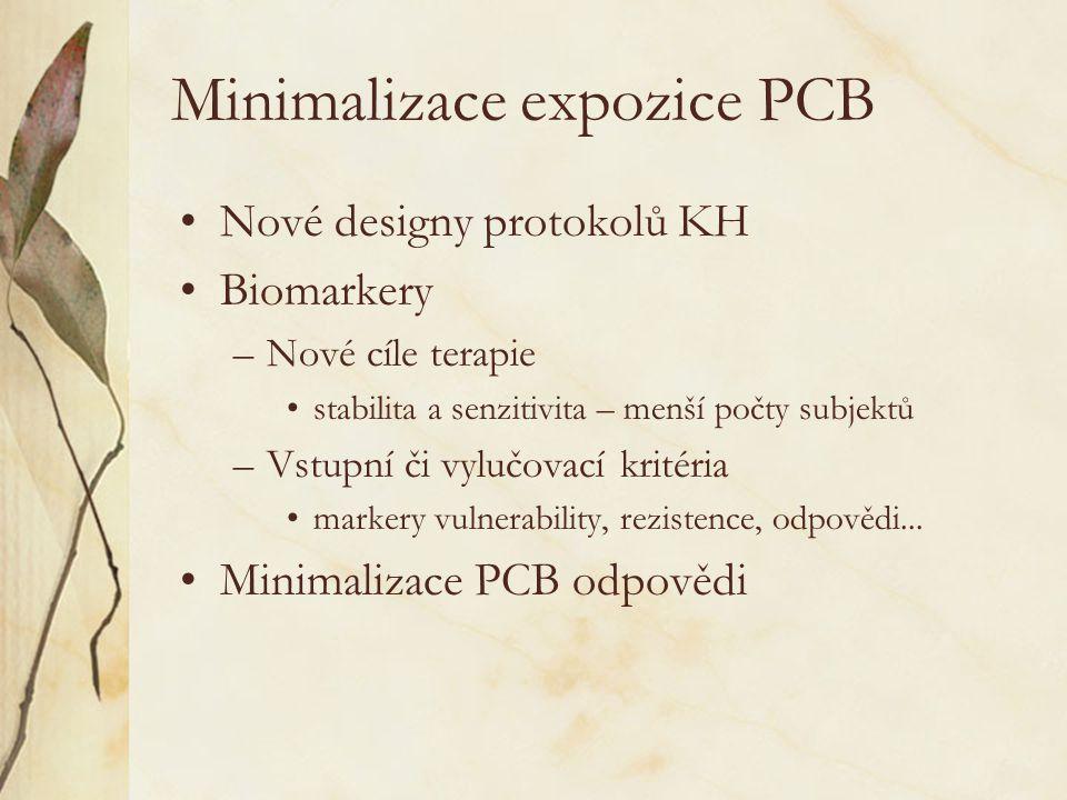 Minimalizace expozice PCB