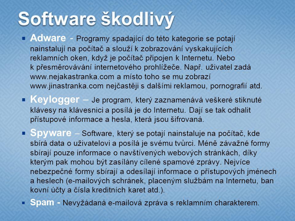 Software škodlivý