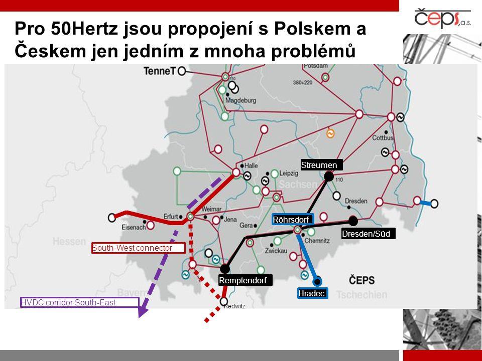 Pro 50Hertz jsou propojení s Polskem a Českem jen jedním z mnoha problémů