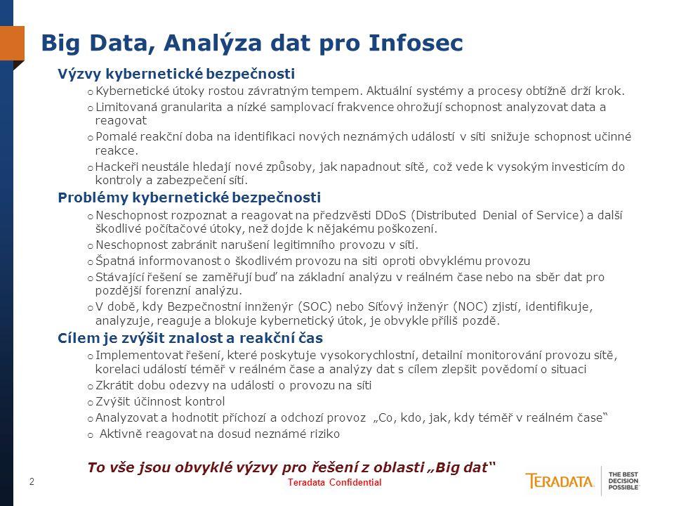 Big Data, Analýza dat pro Infosec