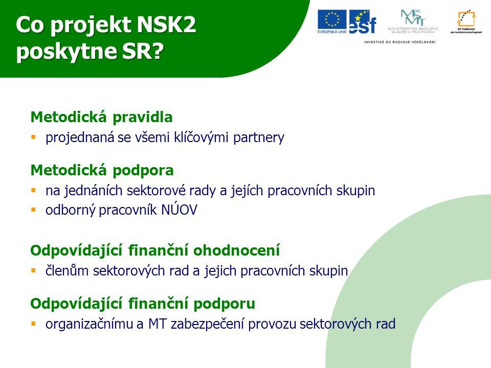 Co projekt NSK2 poskytne SR
