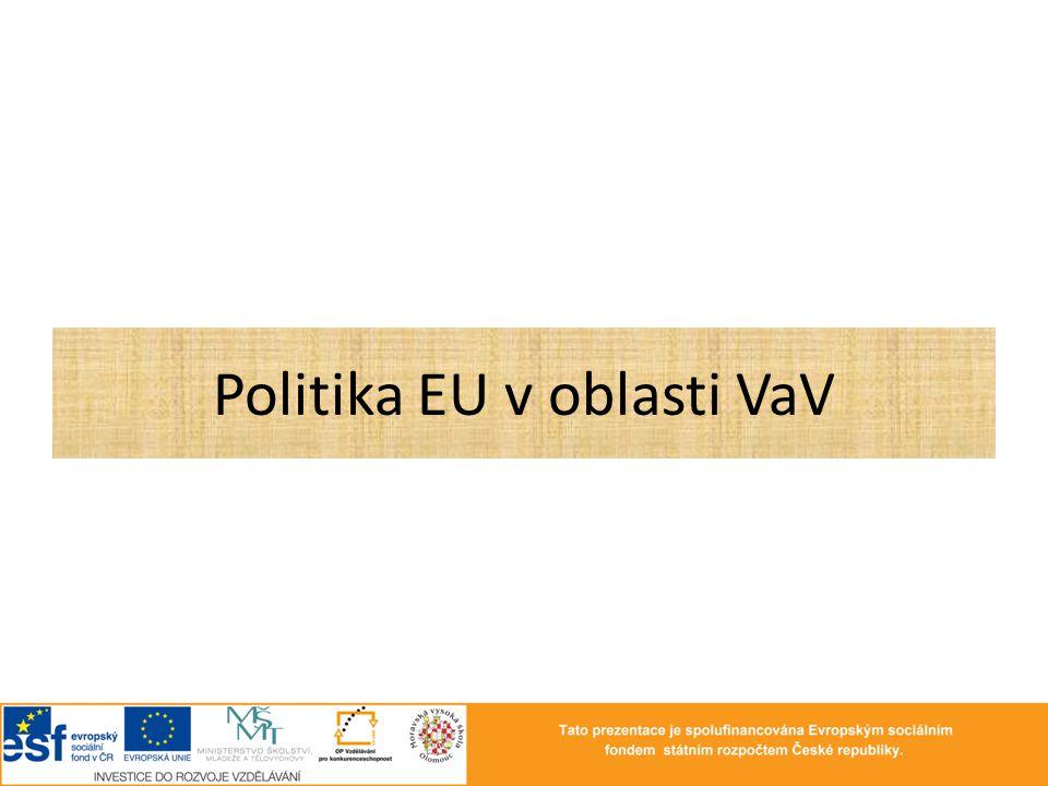 Politika EU v oblasti VaV