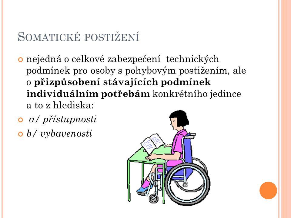 Somatické postižení