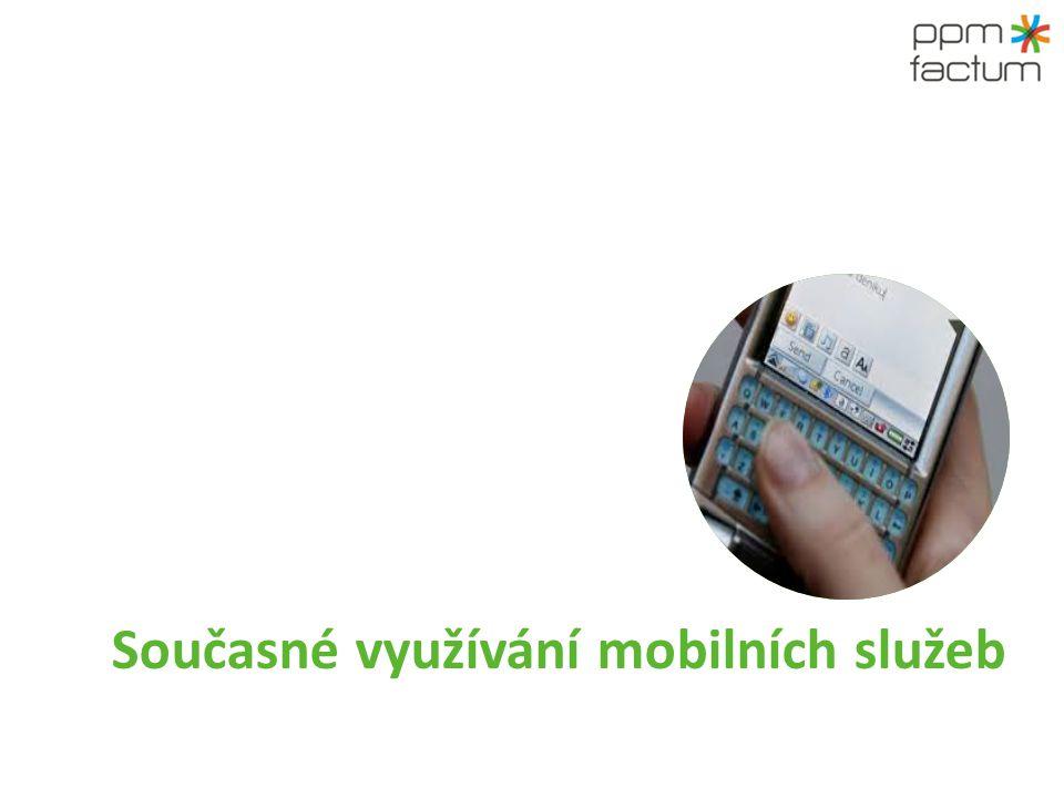 Současné využívání mobilních služeb