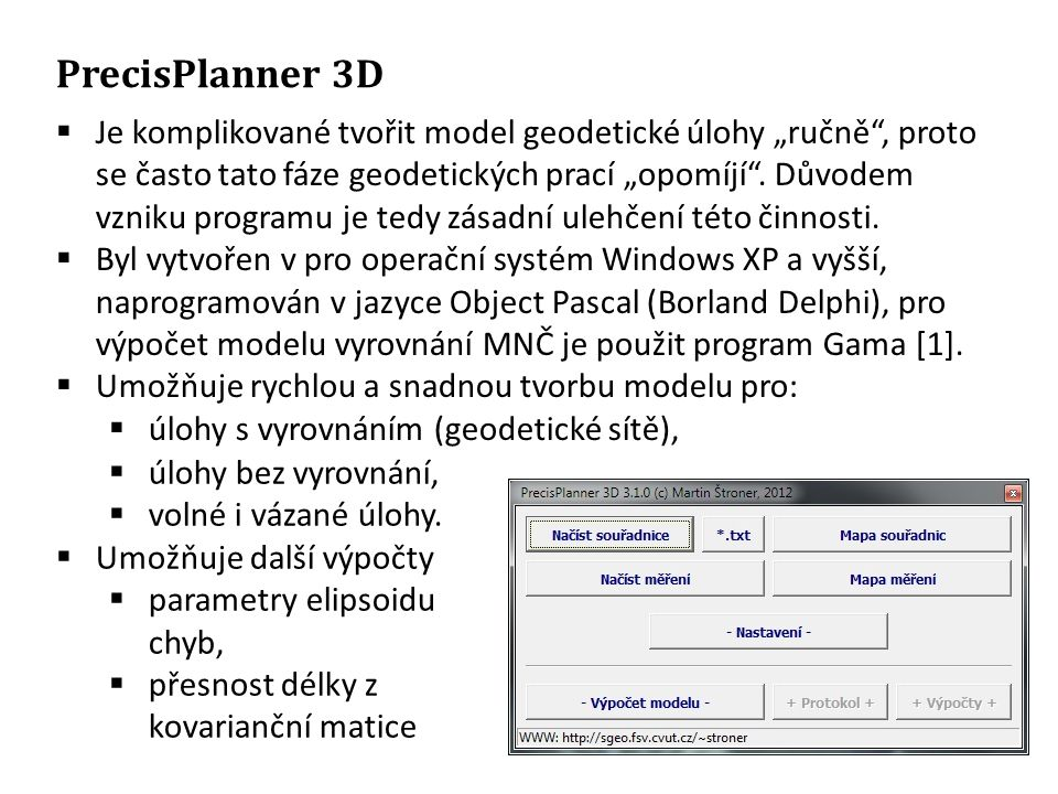 PrecisPlanner 3D