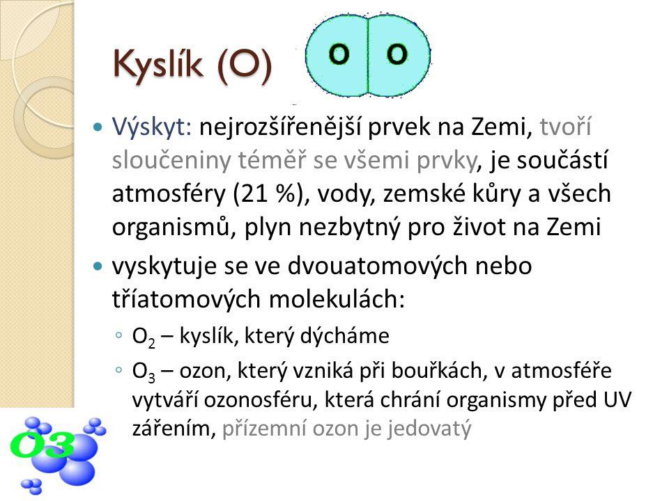 Kyslík (O)