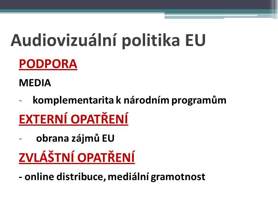 Audiovizuální politika EU