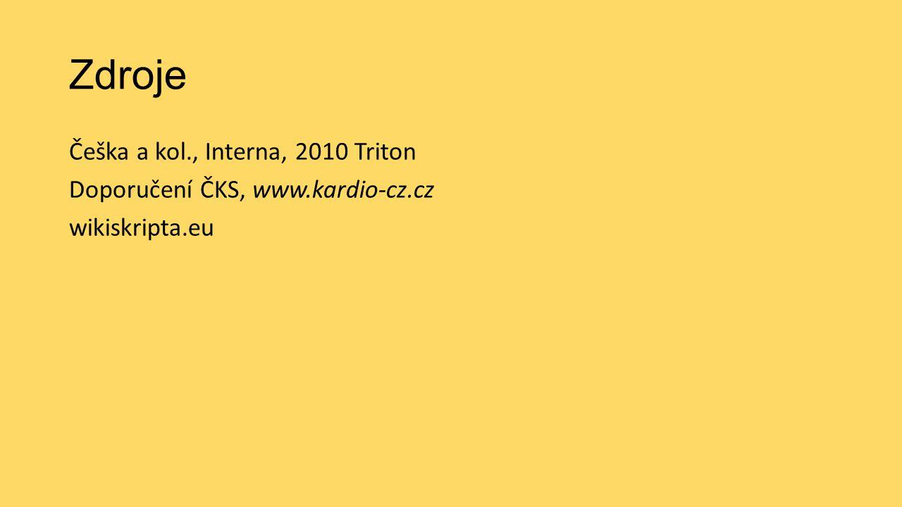 Zdroje Češka a kol., Interna, 2010 Triton