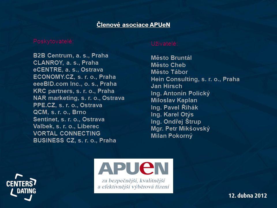 Členové asociace APUeN