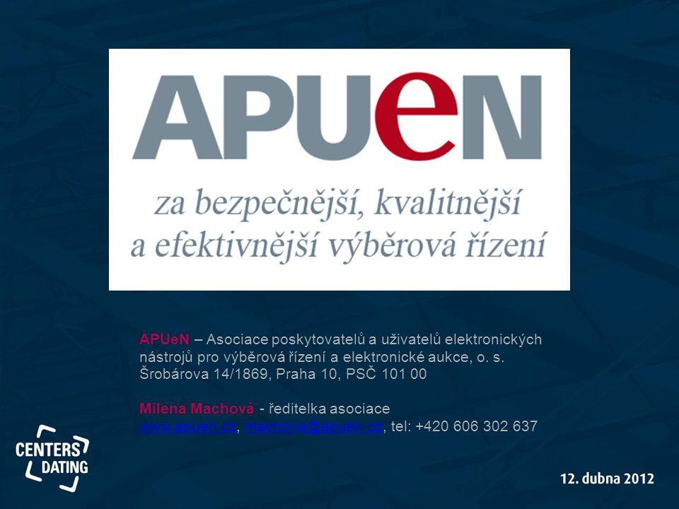 APUeN – Asociace poskytovatelů a uživatelů elektronických