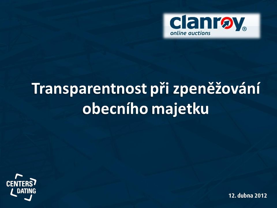 Transparentnost při zpeněžování obecního majetku