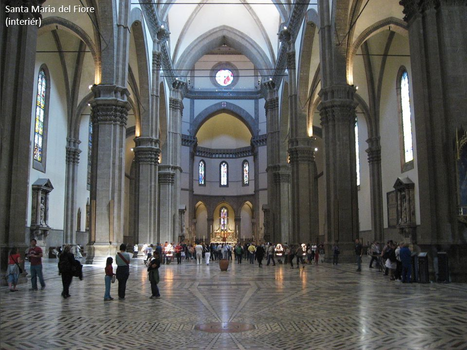 Santa Maria del Fiore (interiér)