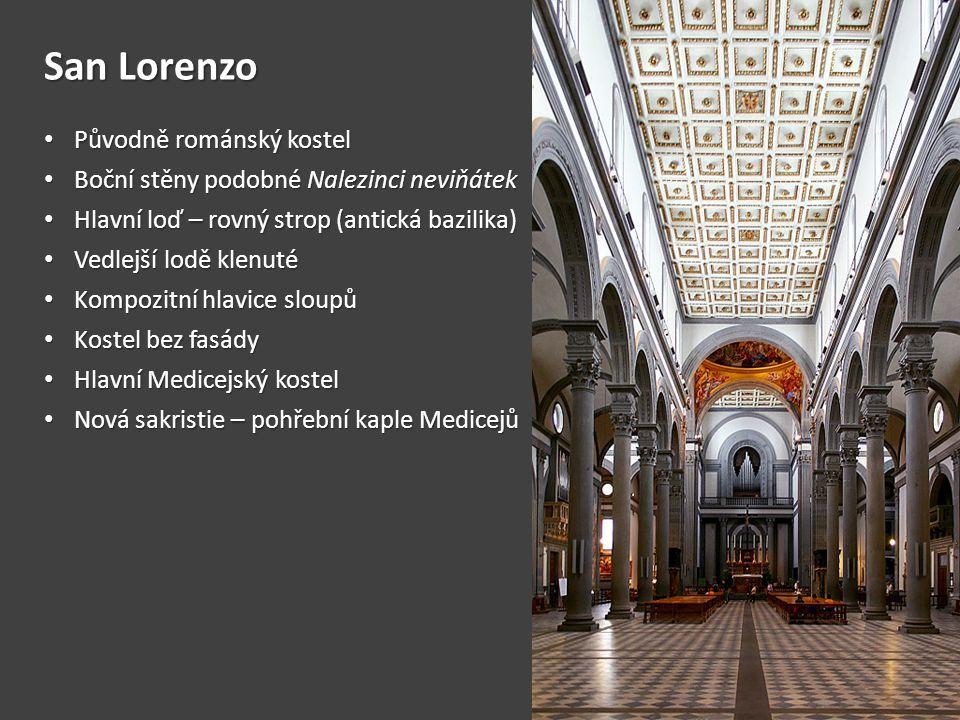 San Lorenzo Původně románský kostel