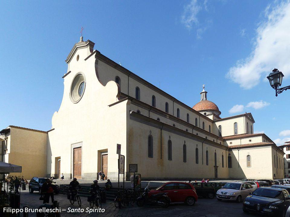 Filippo Brunelleschi – Santo Spirito