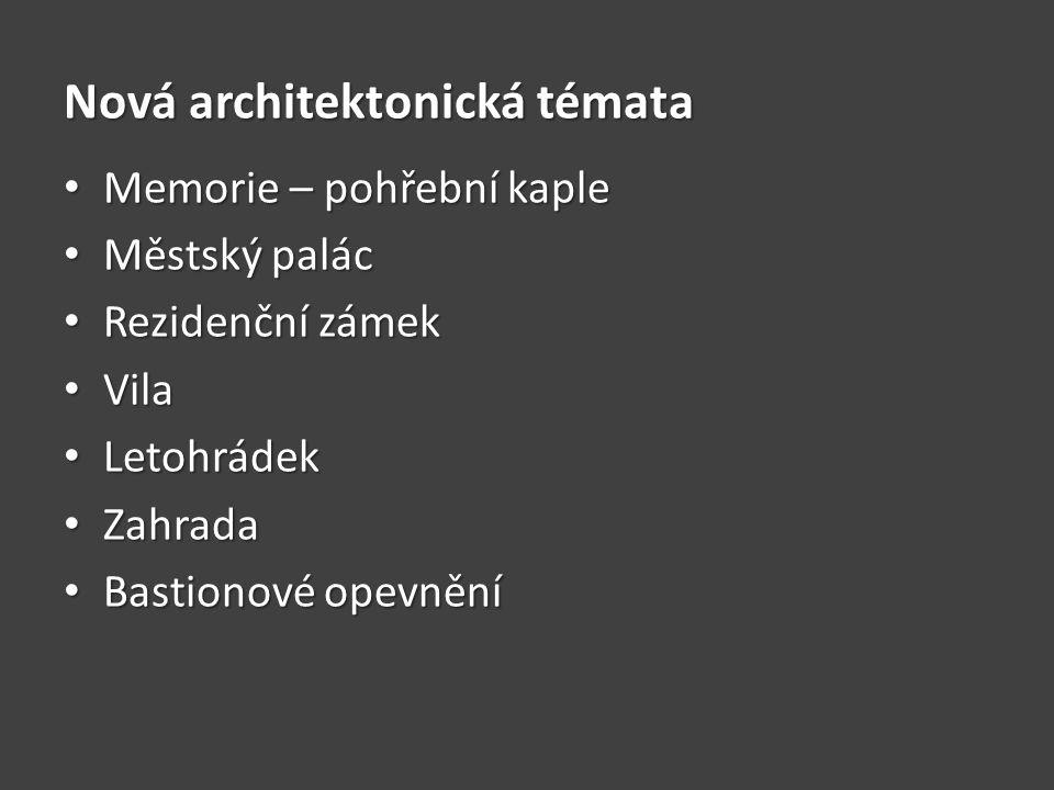 Nová architektonická témata