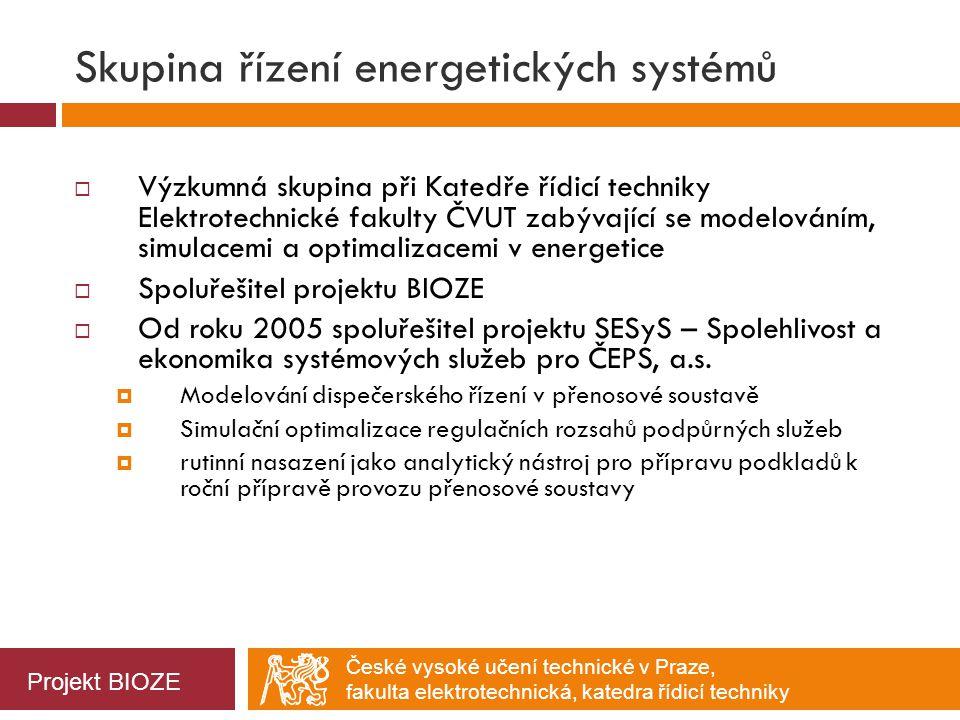 Skupina řízení energetických systémů