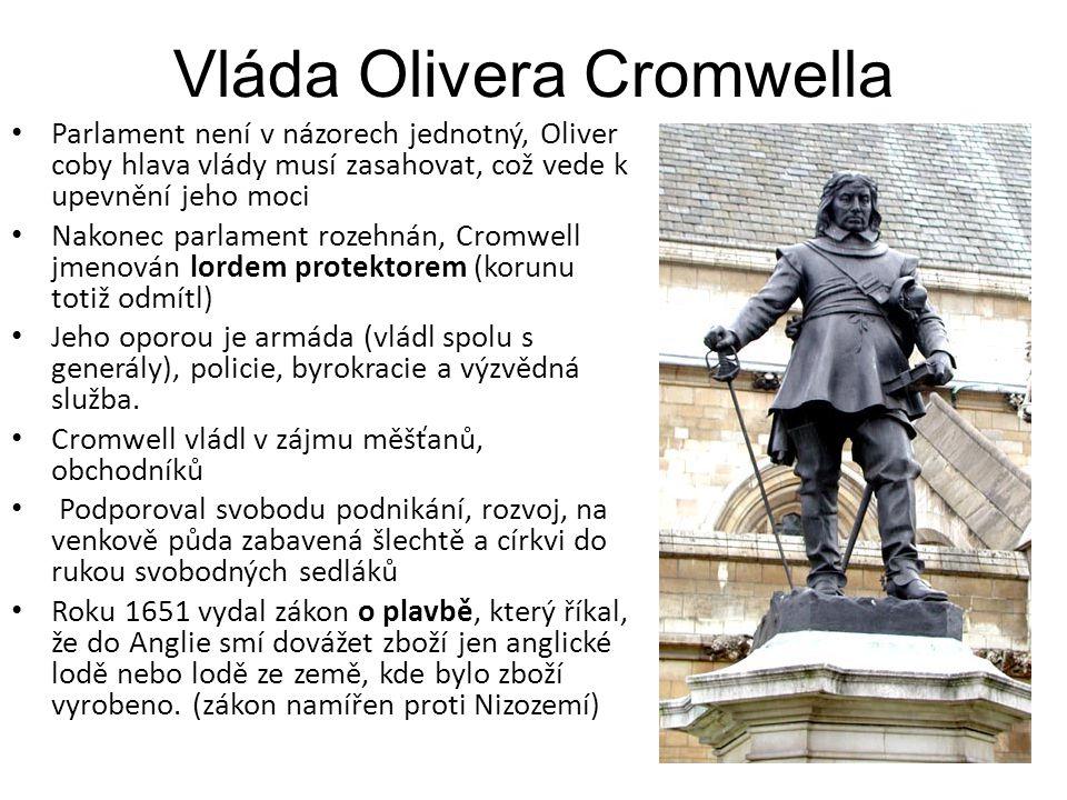 Vláda Olivera Cromwella