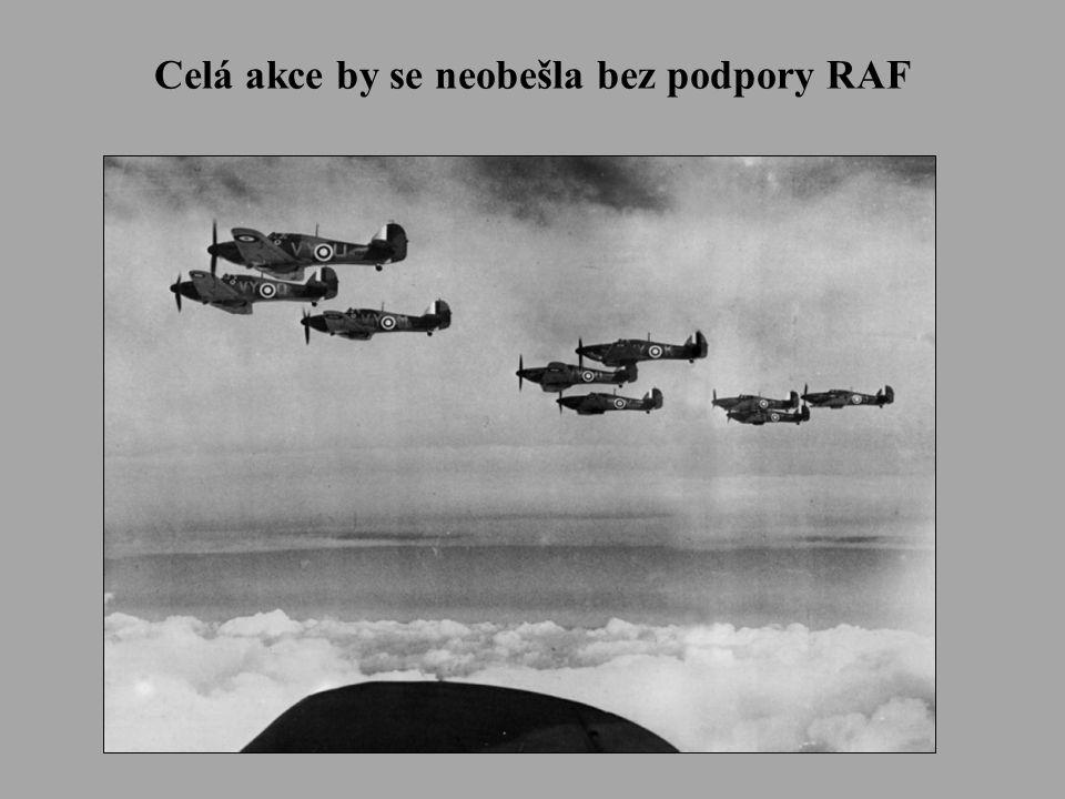 Celá akce by se neobešla bez podpory RAF