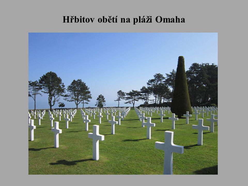Hřbitov obětí na pláži Omaha