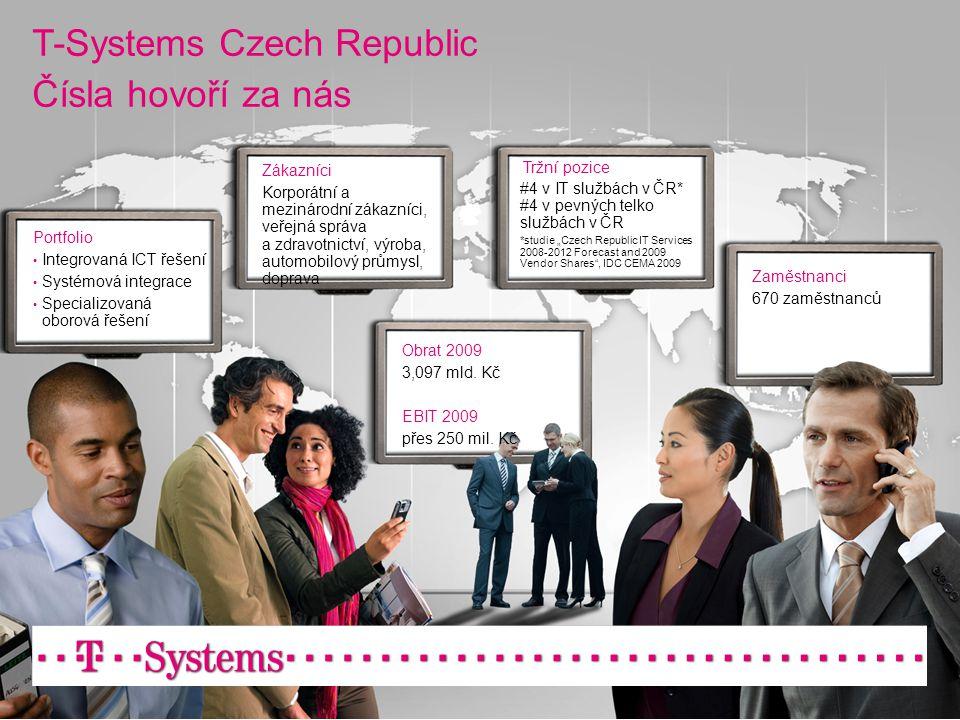 T-Systems Czech Republic Čísla hovoří za nás