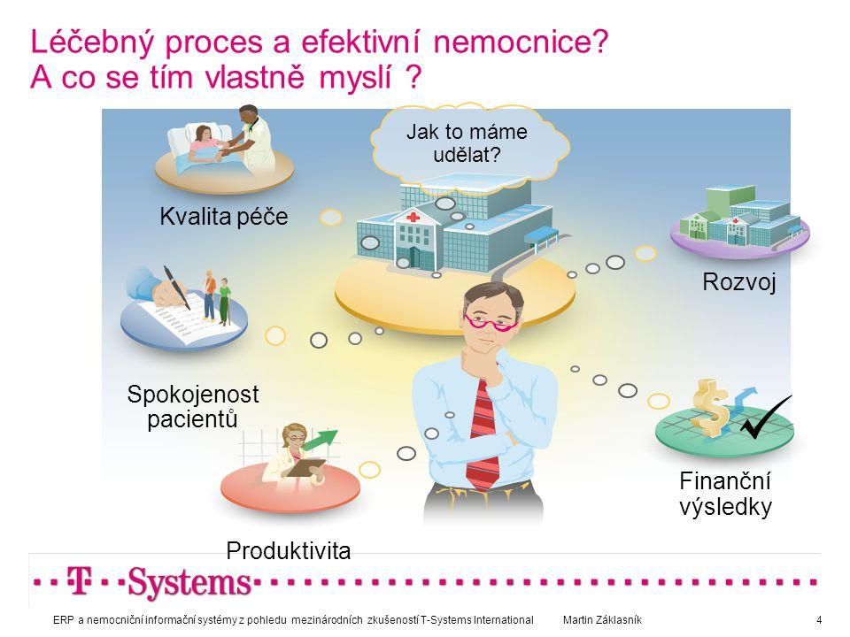 Léčebný proces a efektivní nemocnice A co se tím vlastně myslí