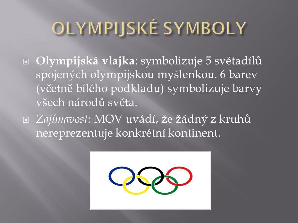 OLYMPIJSKÉ SYMBOLY