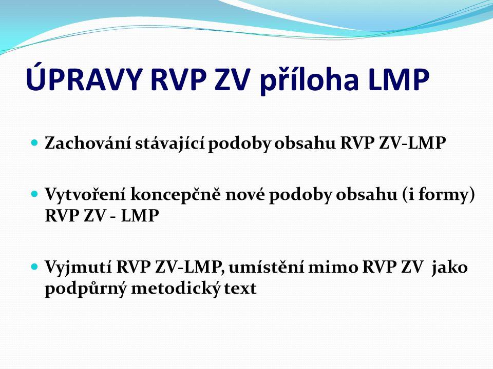 ÚPRAVY RVP ZV příloha LMP