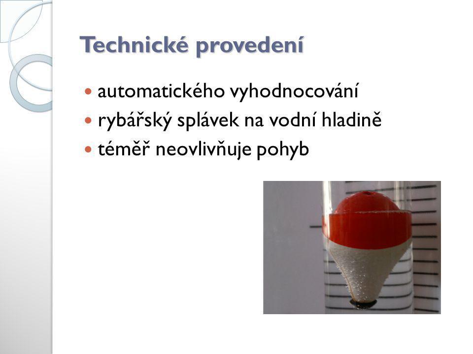 Technické provedení automatického vyhodnocování