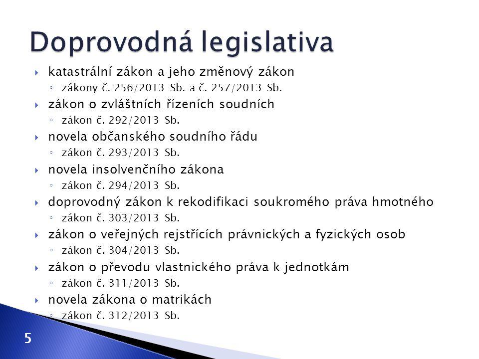 Doprovodná legislativa