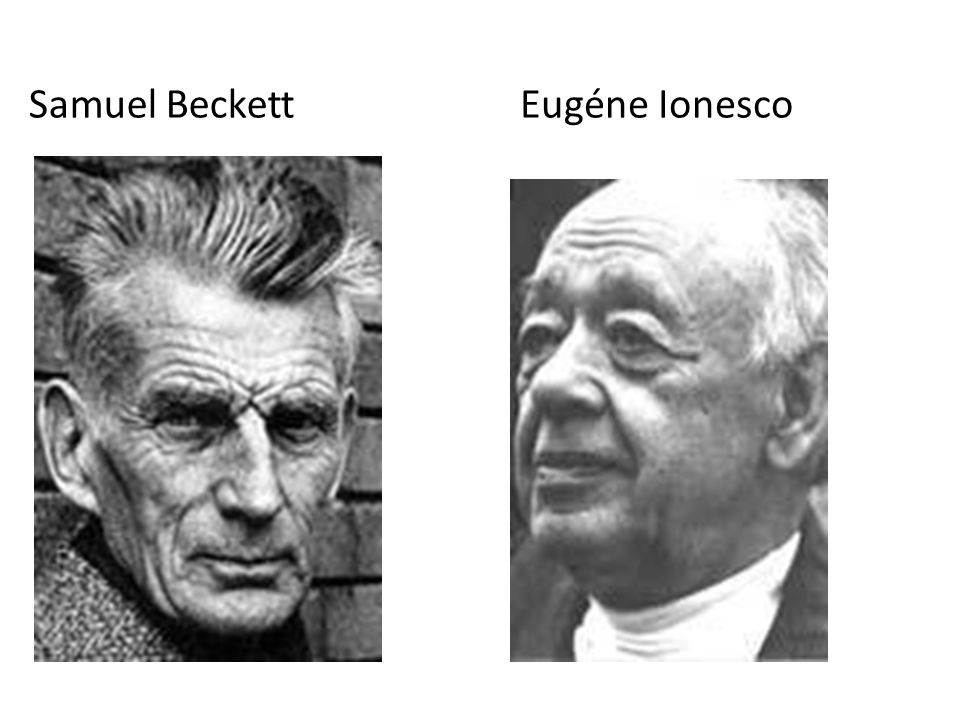 Samuel Beckett Eugéne Ionesco