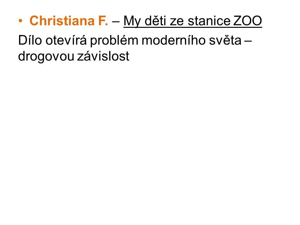 Christiana F. – My děti ze stanice ZOO