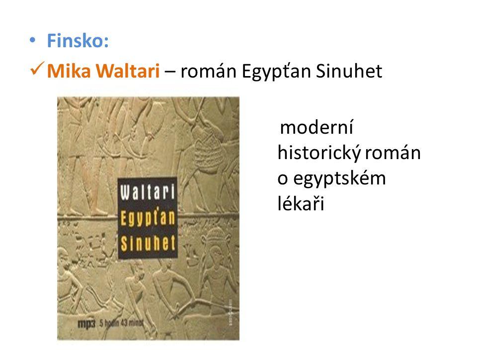 Mika Waltari – román Egypťan Sinuhet