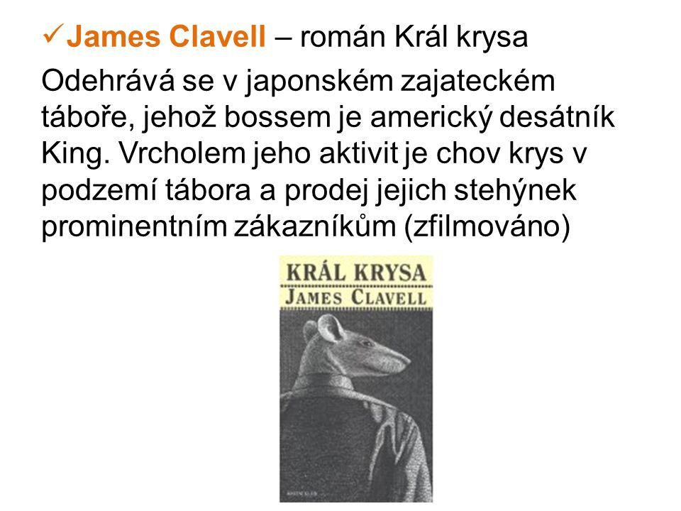 James Clavell – román Král krysa