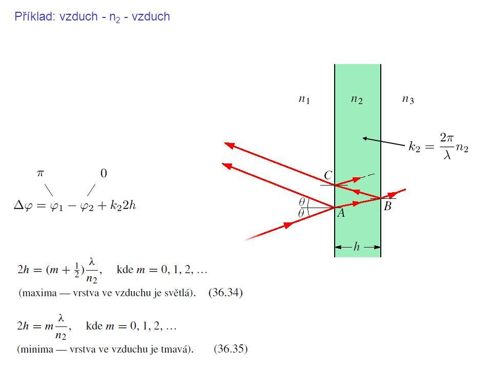 Příklad: vzduch - n2 - vzduch