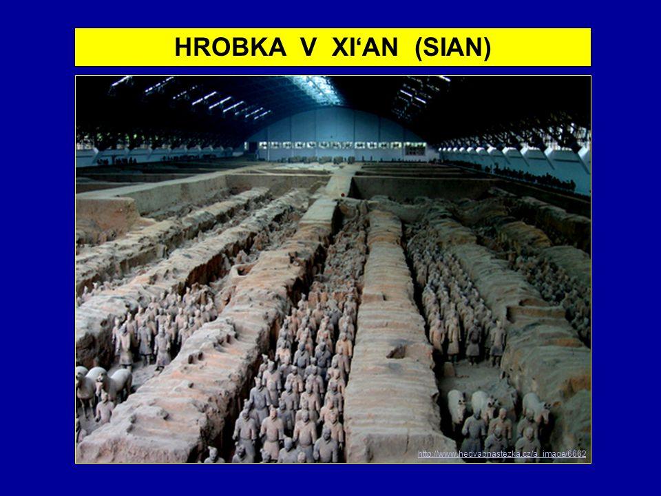 HROBKA V XI'AN (SIAN) http://www.hedvabnastezka.cz/a_image/6662