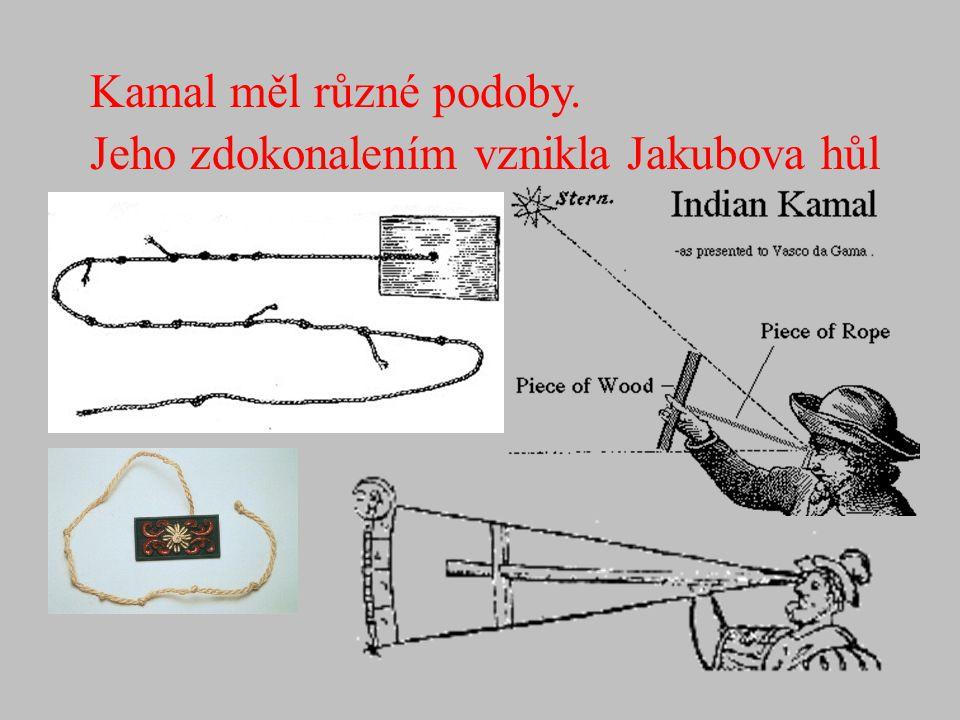 Jeho zdokonalením vznikla Jakubova hůl