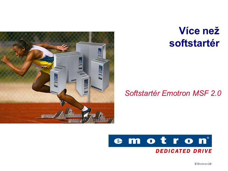 Softstartér Emotron MSF 2.0