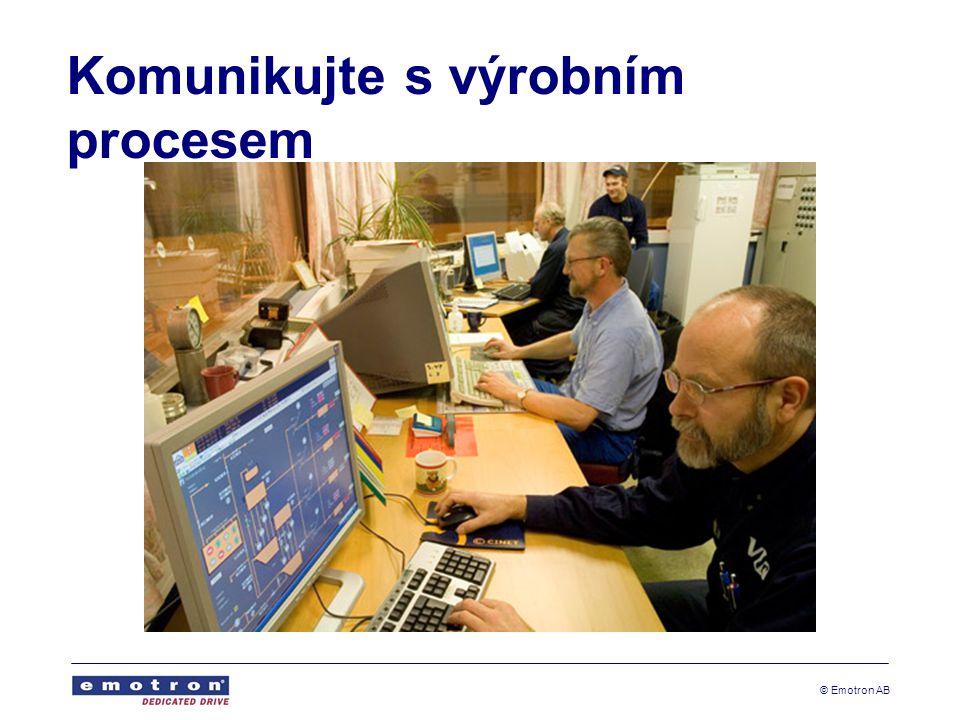 Komunikujte s výrobním procesem