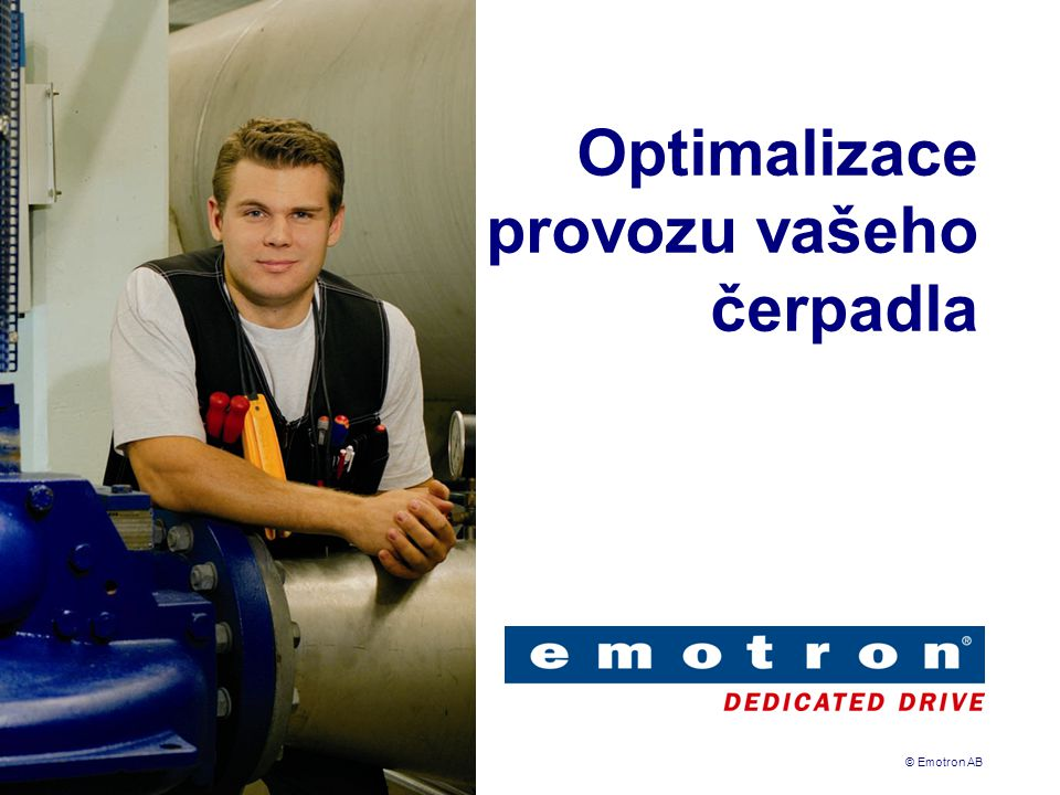 Optimalizace provozu vašeho čerpadla