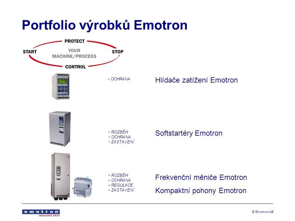 Portfolio výrobků Emotron
