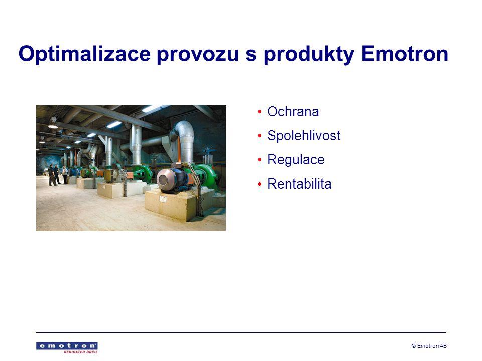 Optimalizace provozu s produkty Emotron