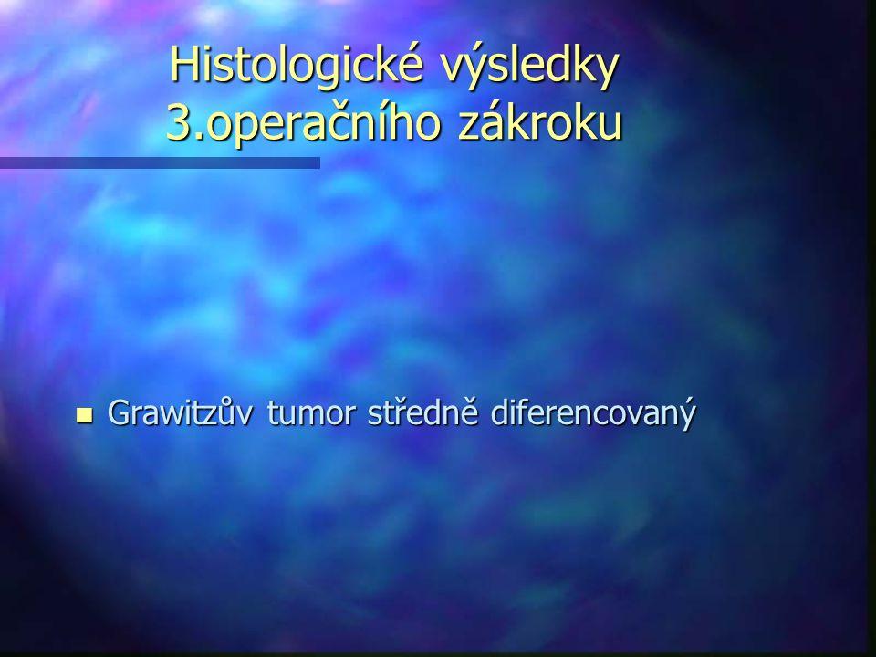 Histologické výsledky 3.operačního zákroku