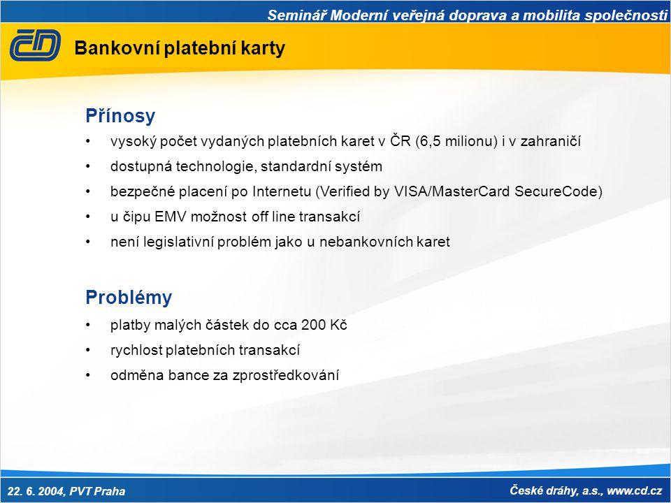 Bankovní platební karty