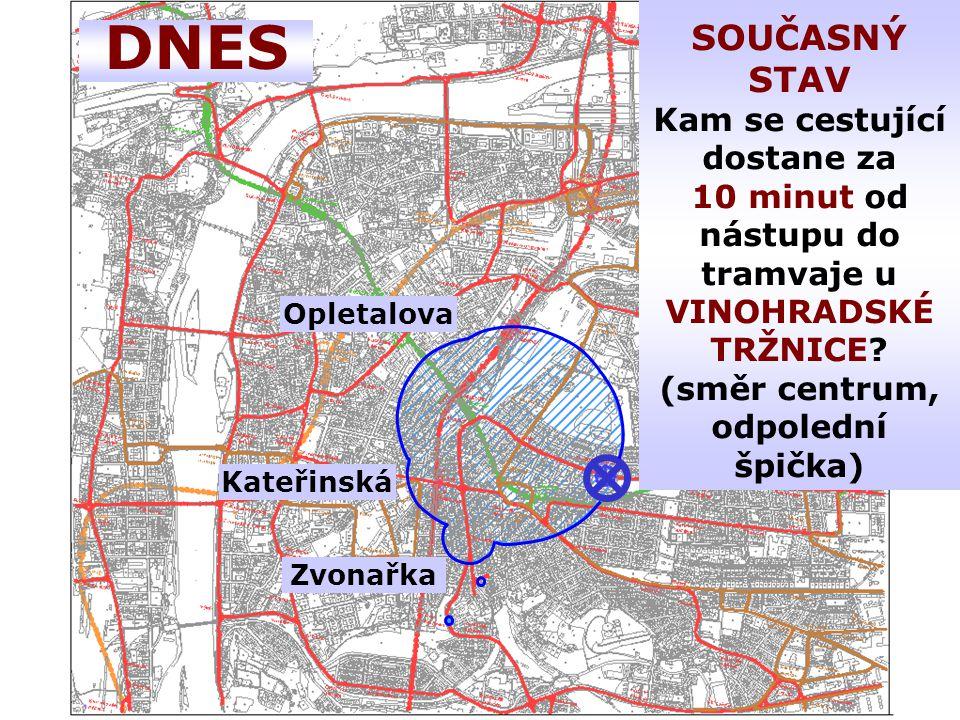 DNES Opletalova Kateřinská Zvonařka