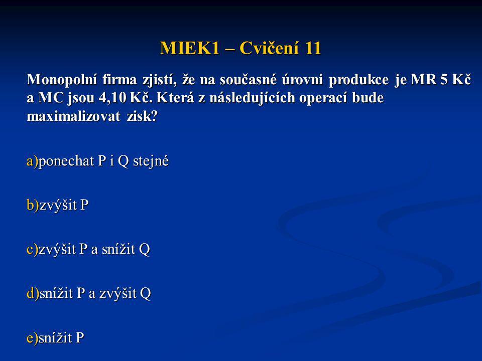 MIEK1 – Cvičení 11